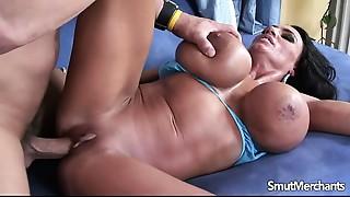 Big boobed Cougar fucked