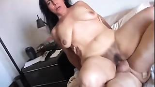 Gorgeous older sweetheart Nina enjoys a hard fucking