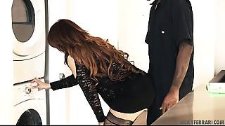 Very Sexy Cougar Interracial sex HD