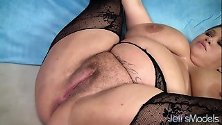 Large boobed big beautiful woman Kacey Parker receives screwed hard