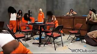 Ebon Young slut 1st Time In Jail