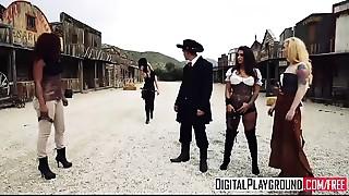 XXX Porn clip - Rawhide - glamorous big-booty honey