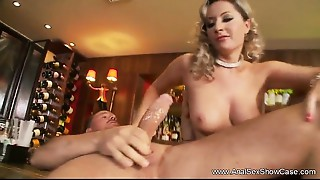 Stylish Mommy Does Anal-copulation With Son