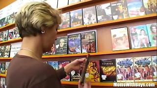 Grandma Miluska Fucking A Juvenile Episode Store Clerk
