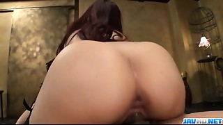 Yui Misaki receives hard pumped in superb modes