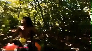 Thai young slut heather goes atving in paradise and acquires biggest throatpie in quad