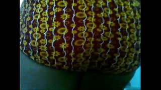 Mallu aunty changing suit and playing with penis