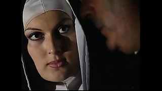 This nun has a immodest secret: she&#039_s a whore!