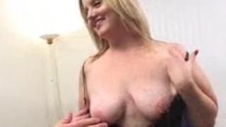 Fat woman copulates 2 schlongs