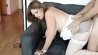 Obese Girlfriend Receives It From Her Boyfriend