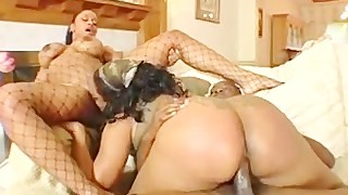 Wet Ebon 3some