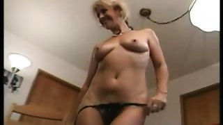 Blond old can't live without toys, anal invasion & swallow-fdcrn