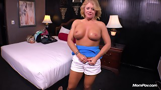 Country MILF can't live without juvenile pecker in her butt