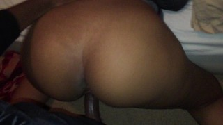 Fucking this thick slut upstairs at a party
