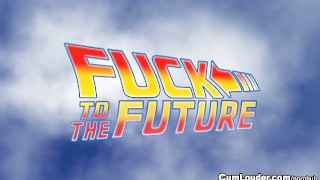 Back to the Future XXX Parody with Amy Brooke