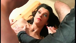 French aged anal-copulation screwed in 3some