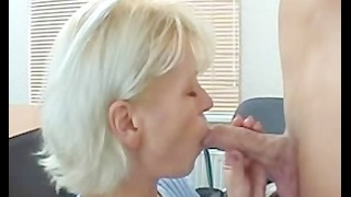 Slender Blond Gorgeous Older Mama Screwed By A Man