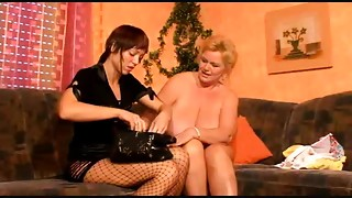 Bbw Lesbo Old bitch And Her Juvenile Girlfriend