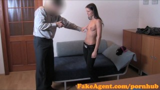 FakeAgent HD Shy student has silk wet crack