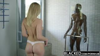 BLACKED Monster Ebony Shlong Creampies Golden-haired Teenie Dakota James