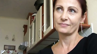 Pretty and aged Czech lady is too slutty for some quick sex