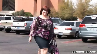 SBBW Jezzebel Joli is drilled hard by hawt tempered shaved headed guy
