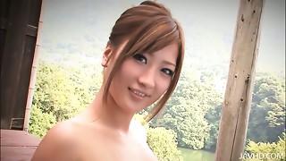 Japanese hotty Aika hawt outdoor adventures