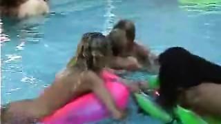 Older Swinger Pool Party