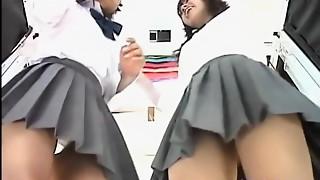 Asian schoolgirls in short short skirts on my camera MBLDV020.SD