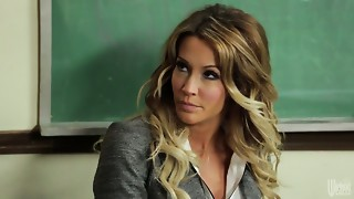 Indecent fantasies of sex-hungry teacher Jessica Drake