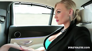 Hawt masseuse Brittany Bardot makes her client fully gratified