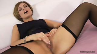 Sextractive Mother I'd like to fuck Sylvia gives a head