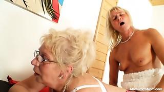 Lewd mamas dong sex experience