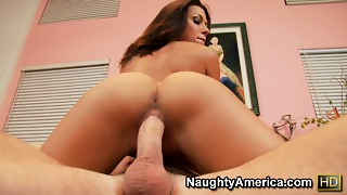 Marvelouse Rachel Starr with her tempting shape is fucking from behind
