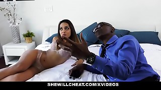 ShewillCheat - Hot Youthful Wife Copulates Big black cock