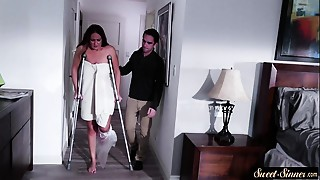 Big breasted mother I'd like to fuck drilled by her sexually horny stepson