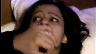 Wonderful indian gal teasing