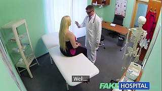 FakeHospital Raunchy therapy causes fresh patient to squirt uncontrollably