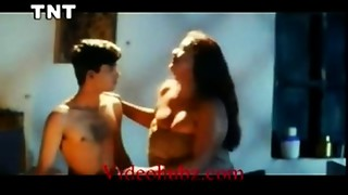Shakeela Mallu seducing youthful chap