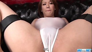Subtitles - Japanese cutie Rei receives dong in her worthy wet crack