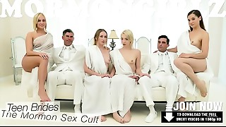 MormonGirlz- Virgin impure cleft stretched by a biggest ding-dong