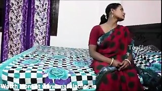 Big milk shakes indian aunty in red saree fucked by neighbour boy..and  record her