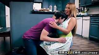 Brazzers - Mommy Got Milk shakes -  Bake Sale Bang scene starring Kianna Dior and Alex D