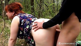 Wife fucked by a stranger In the park