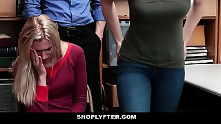 Shoplyfter - Daughter Copulates Cop For Moms Freedom
