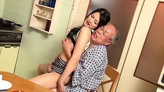 Incredible Japanese model Risa Murakami in Asian oldie, showers JAV clip scene