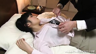 Chika Hirako sexy Japanese office cutie nuce juvenile bitch