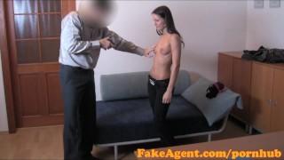 FakeAgent HD Shy student has silk wet crack
