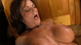 Incredibly active mother I'd like to fuck bitch Deauxma copulates slim chap