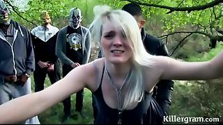 Obedient hooker girlfriend in public bang